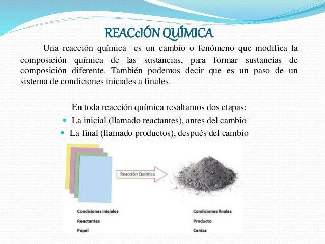 Ejemplo De Reaccion Quimica En La Vida Cotidiana Ejemplo Sencillo