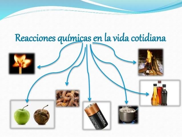 Vinculante Reacciones Químicas En La Vida Cotidiana