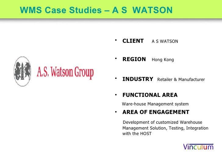Vinculum Warehouse Management System Competency Center