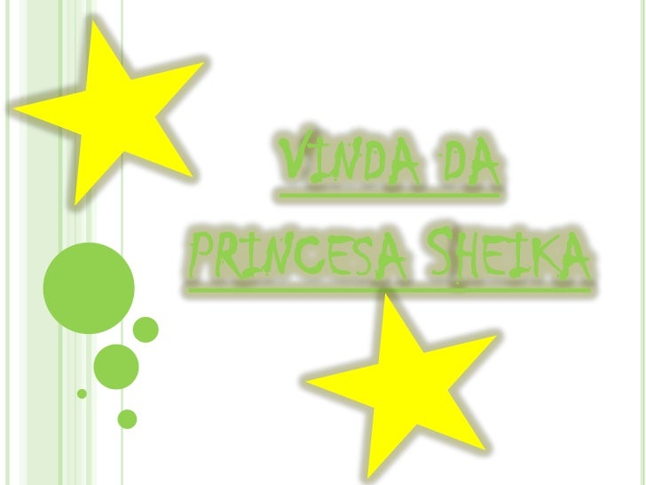 Vinda da princesa Sheika<br />