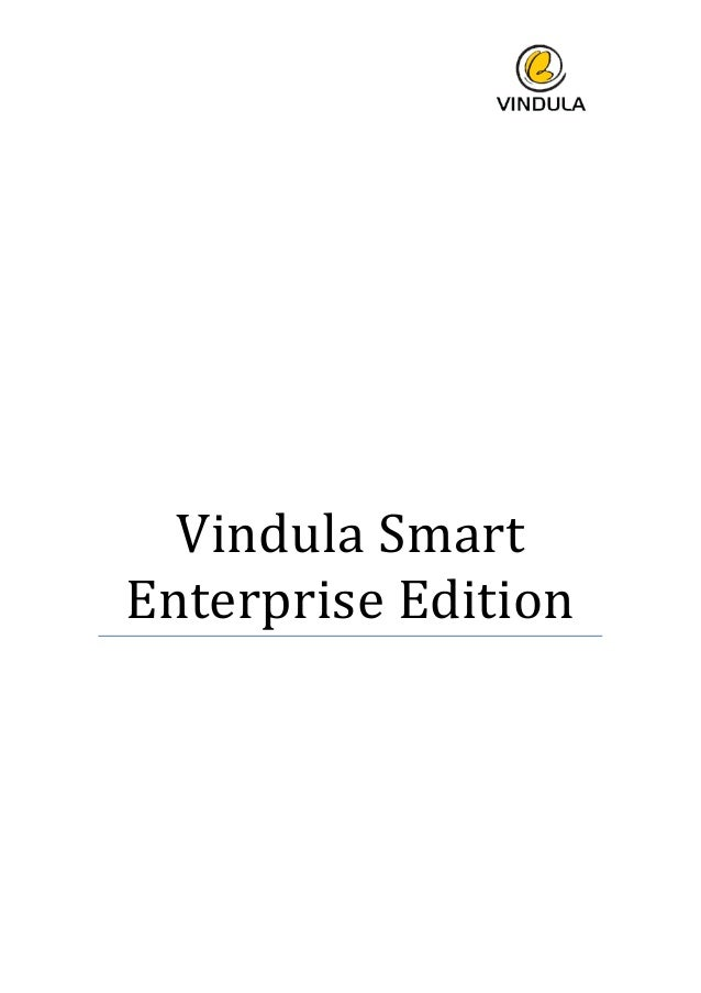 Vindula Smart Enterprise Edition