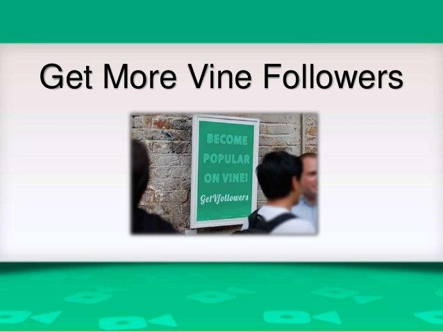 Get More Vine Followers