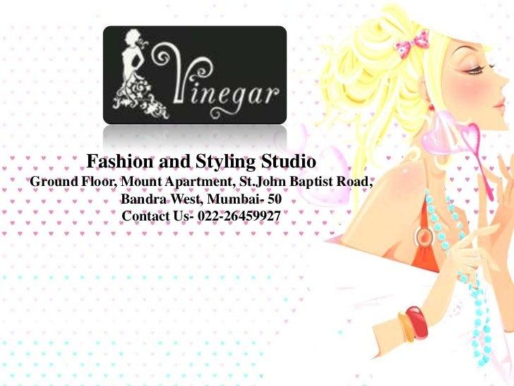 Vinegar Fashion And Styling Studio