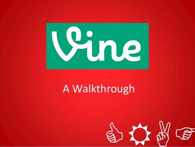 A Walkthrough       CRAF