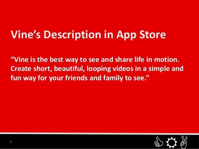 Vine presentation Slide 3