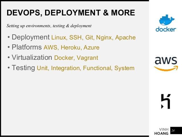 VINH HOANG 2019 TRENDS • GraphQL & Apollo • TypeScript • Serveless Architecture AWS, Netlify & Firebase • AI & Machine Lea...
