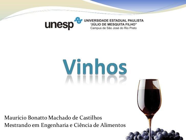 Maurício Bonatto Machado de CastilhosMestrando em Engenharia e Ciência de Alimentos