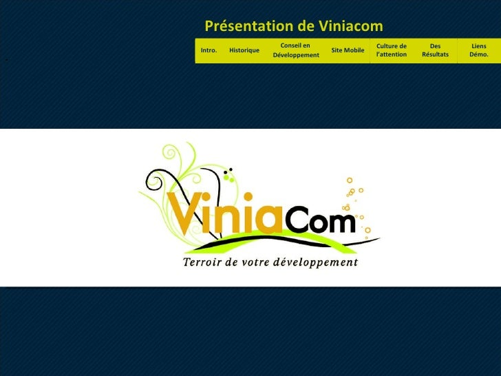 Viniacom - Les bonnes raisons de passer au mobile.
