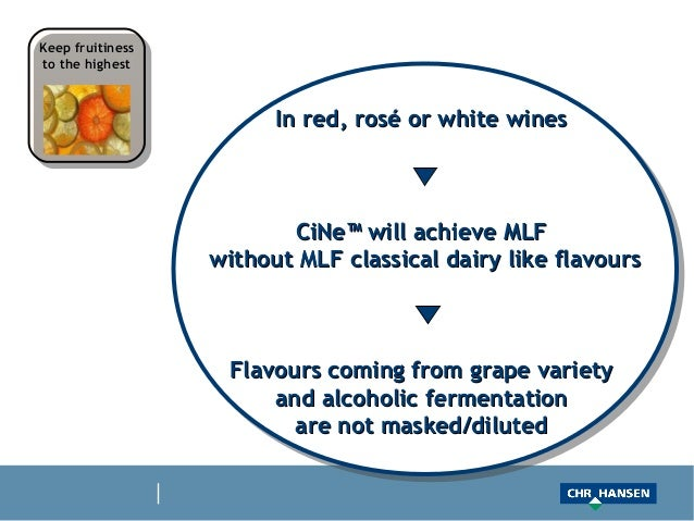 Keep fruitinessto the highest                        In red, rosé or white wines                         CiNe™ will achiev...