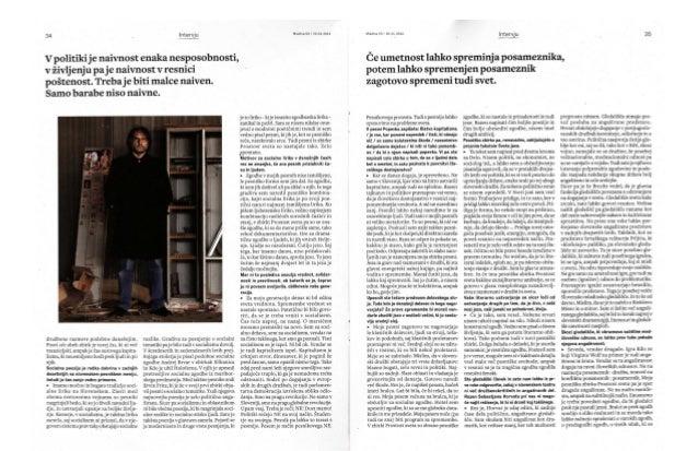 Vinko Möderndorfer -  intervju Slide 2