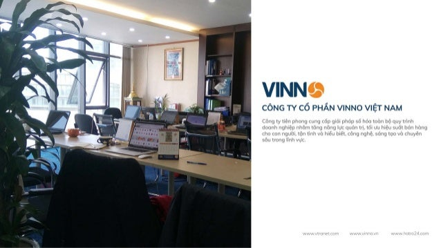 Hồ sơ năng lực công ty phần mềm Vinno Slide 3
