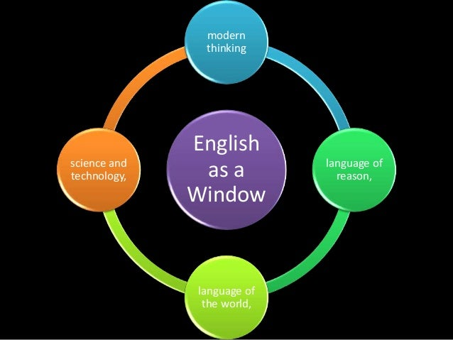 importance of english langauge in science and technology