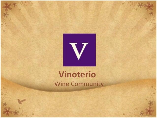 Vinoterio Wine Community