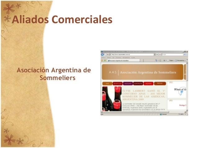 Aliados Comerciales Asociación Argentina de Sommeliers