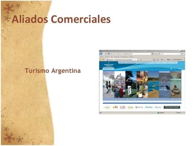 Aliados Comerciales Turismo Argentina