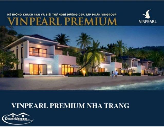 Saleskit Brochure giới thiệu Vinpearl Golf Land Nha Trang Bay Resort Villas