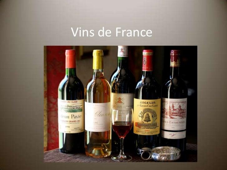 Vins de France<br />