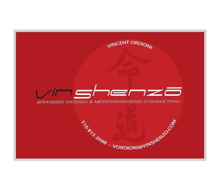 Vin shenzo brochure