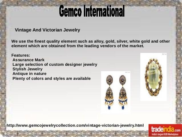 Antique Victorian Jewelry Exporter,Manufacturer,Jaipur