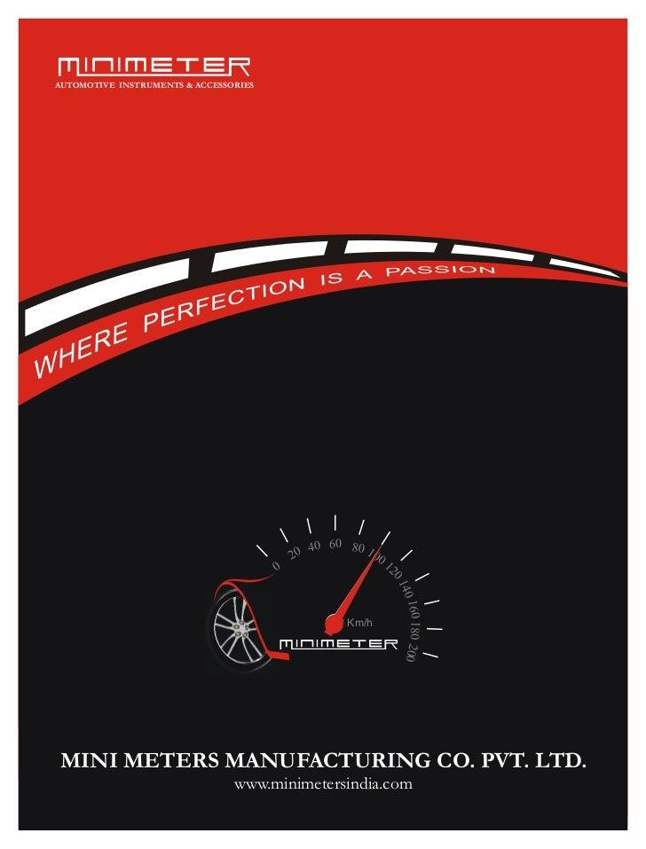 AUTOMOTIVE INSTRUMENTS & ACCESSORIES                                                40 60 80 10                           ...