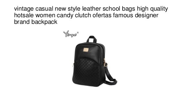 0ab80e049d Vintage casual new style leather school bags high quality hotsale wom…