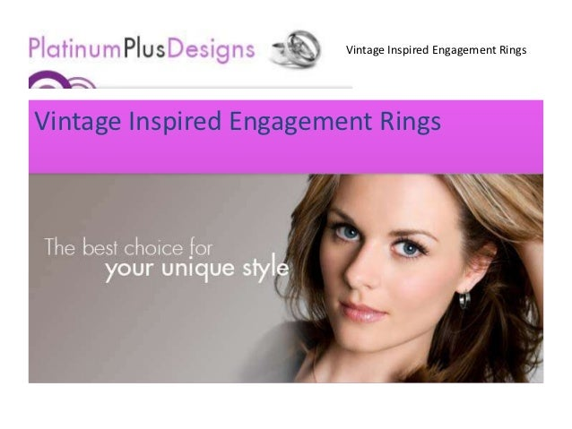 Vintage Inspired Engagement RingsVintage Inspired Engagement Rings