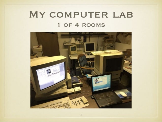 My computer lab 1 of 4 rooms 4