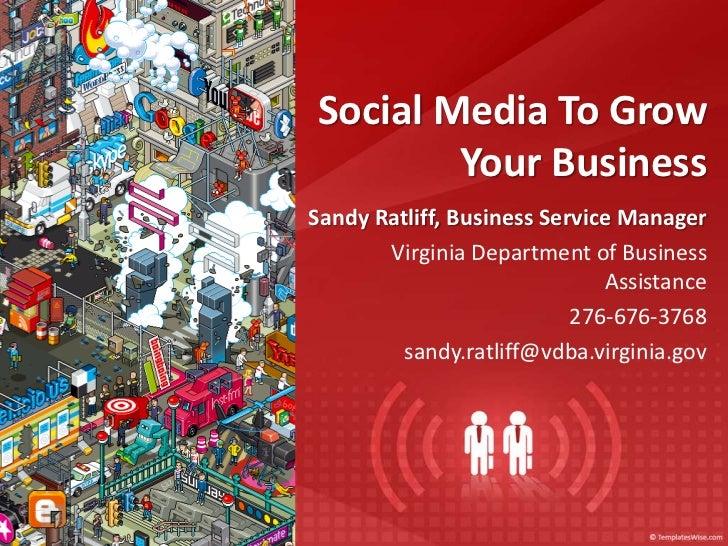 Vinton Chamber Social Media for Business Workshop