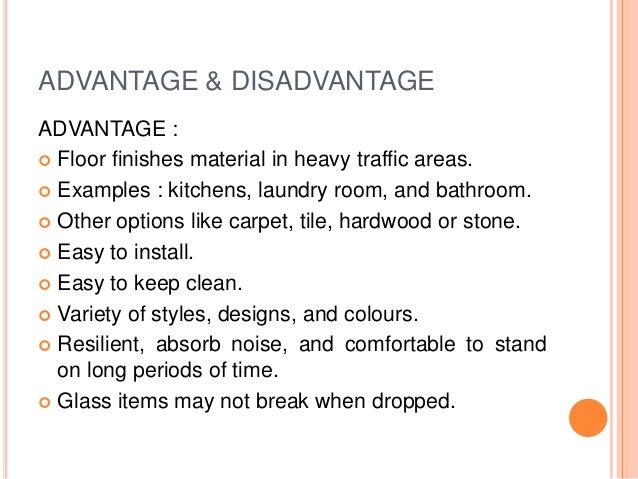 ADVANTAGE U0026 DISADVANTAGE ADVANTAGE :  Floor ...