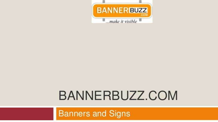 BANNERBUZZ.COMBanners and Signs