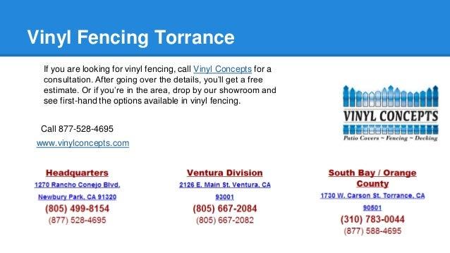 Vinyl Fencing Torrance