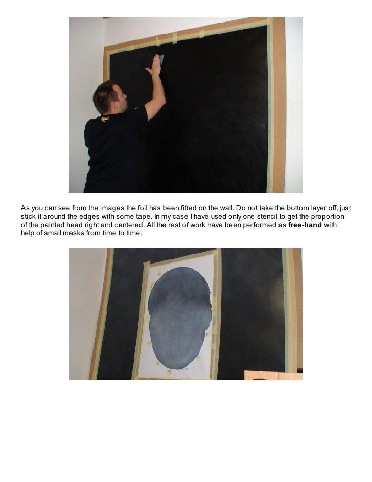 Vinylography or airbrushing on vinyl foil Slide 3