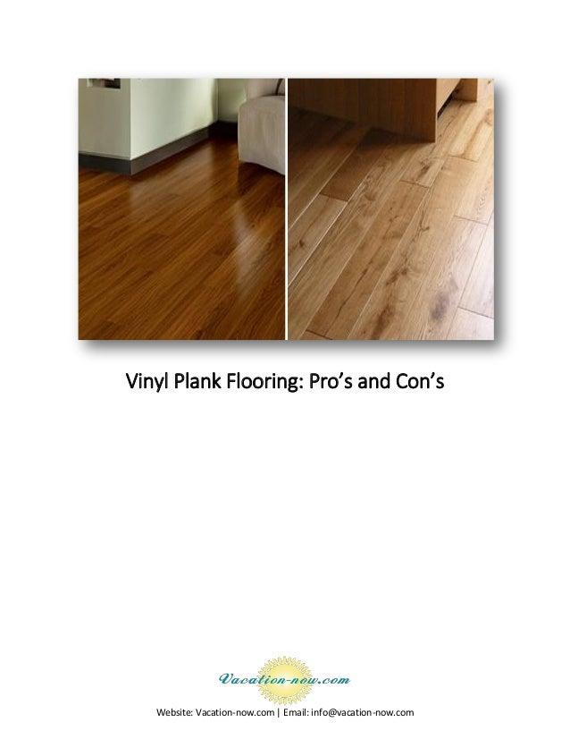 Vinyl Plank Flooring Pros And Cons