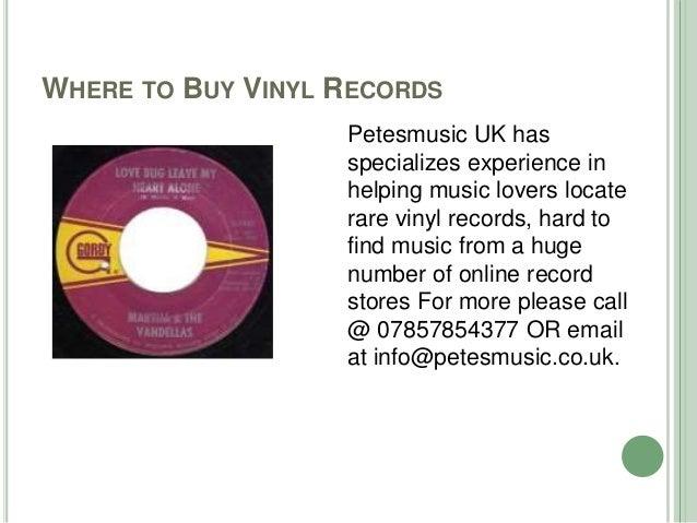 Vinyl records for sale in united kingdom