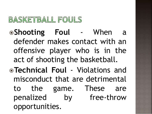 fouls and violations in basketball In basketball, a common violation is the most minor class of illegal action it is when any pass play is made across the half court line when any other player of the.