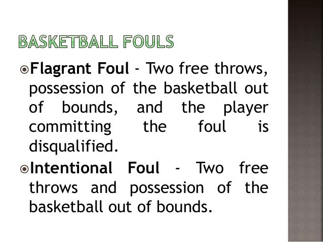 fouls and violations in basketball Technical fouls are a necessary and misunderstood part of the game of basketball while technical fouls, or technicals, are most often associated with penalizing unsporting behavior, they cover much, much more they also cover violations of important procedural and administrative rules, enforcing compliance w.