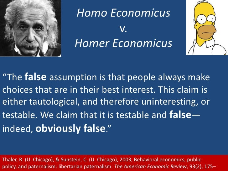 are people rational in the economists Economists are often criticized for making assumptions why are assumptions necessary to think about assumptions in rational economics add remove i need some assistance to the do you think that people are rational, and how could you construct a model of irrational behavior would.