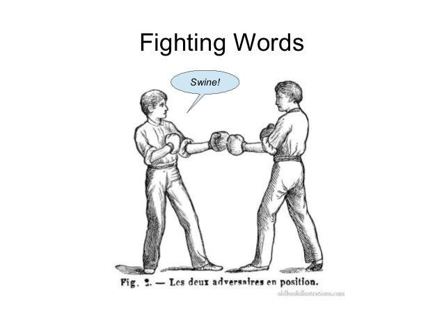 Fighting Words Swine!