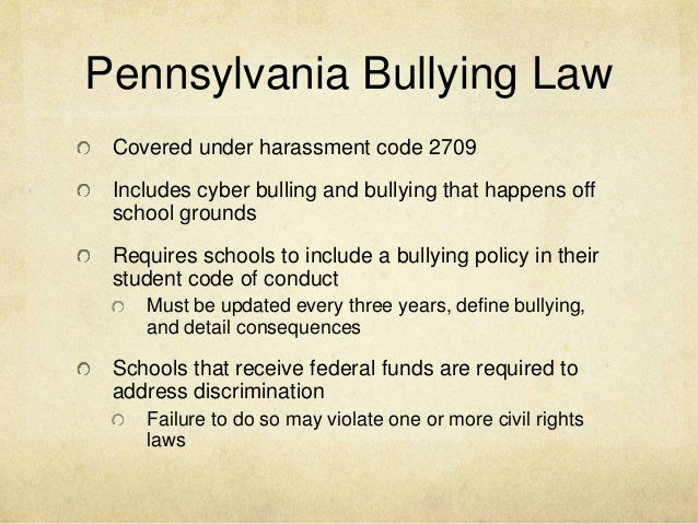 cyber harassment laws in pa about dating