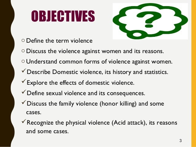 proposal violence against women Violence against women act: history and federal funding abstract [excerpt] the violence against women and department of justice reauthorization act of.