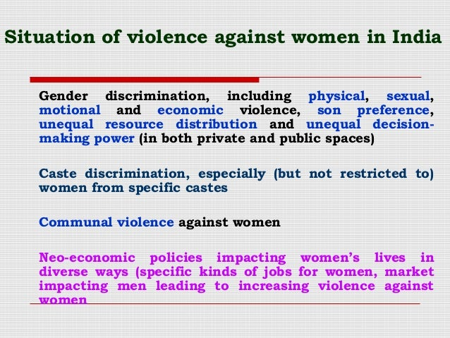 Violence against women: a 'global health problem of epidemic proportions'
