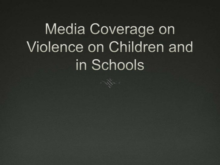 Questions to Consider What types of violence regarding children  and education are there? If violence happens in your sc...