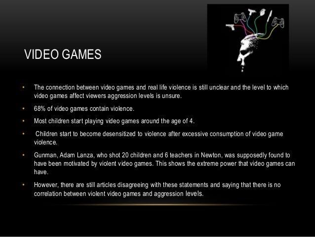 Violent video game essays