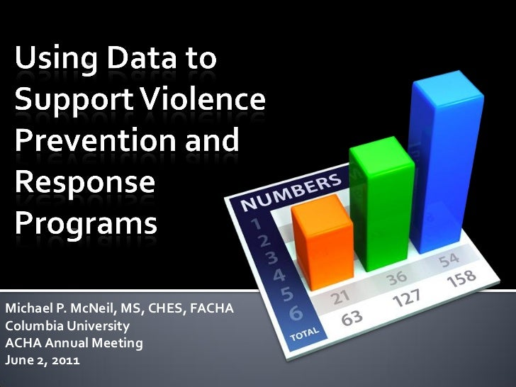 Michael P. McNeil, MS, CHES, FACHAColumbia UniversityACHA Annual MeetingJune 2, 2011
