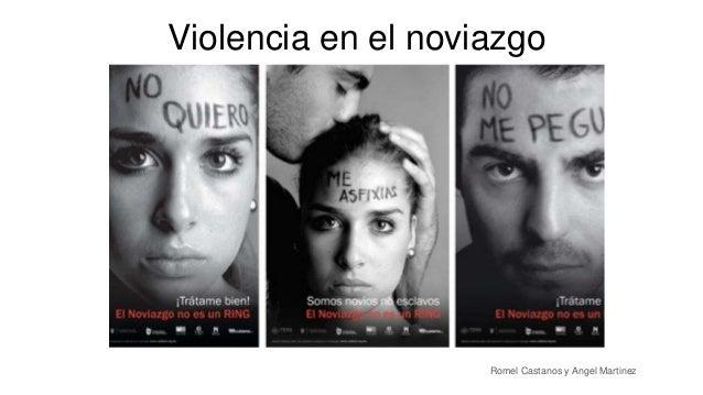 Violencia en el noviazgo Romel Castanos y Angel Martinez