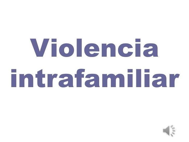 Violenciaintrafamiliar