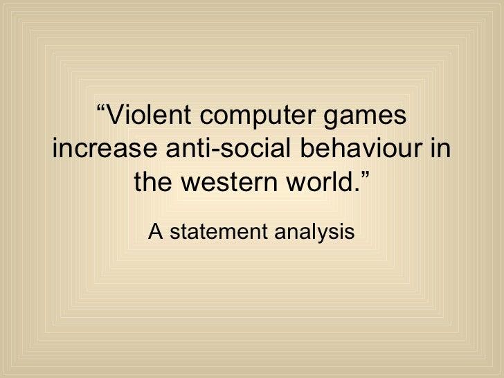 Anti social behaviour essay