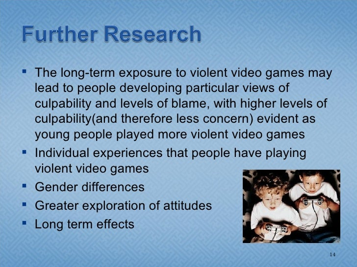 Violent video games may be tied to aggressive thoughts