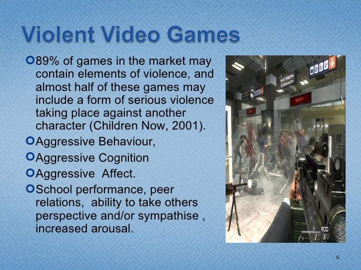 Violence in the video games