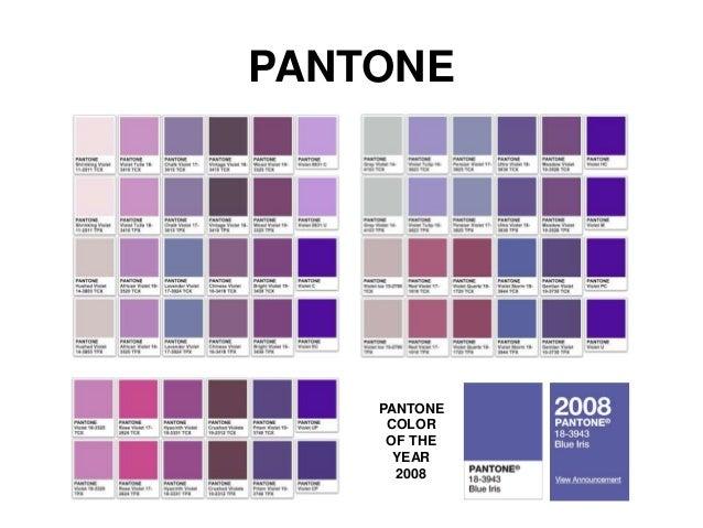 Violeta - Gama de colores morados ...
